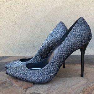 NEW Stuart Weitzman metallic heels